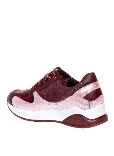 Pink&Orange Spor Ayakkabı Bordo